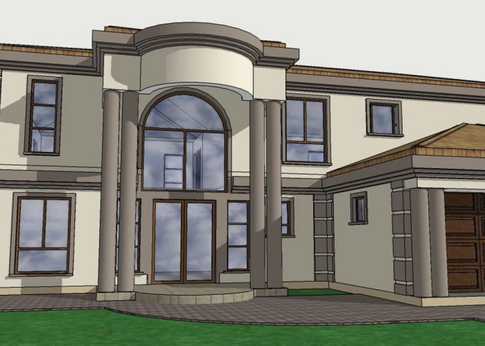 African house plans and designs modern house for Modern south african home designs