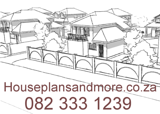 Gated house complex in Edenvale