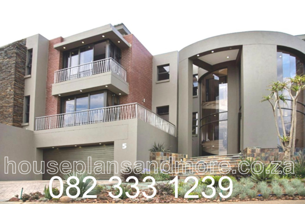Mod 3 storey painted house Sandton