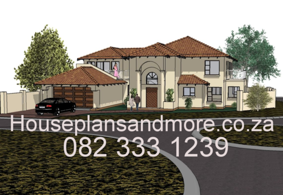 House style double storey with premium finish