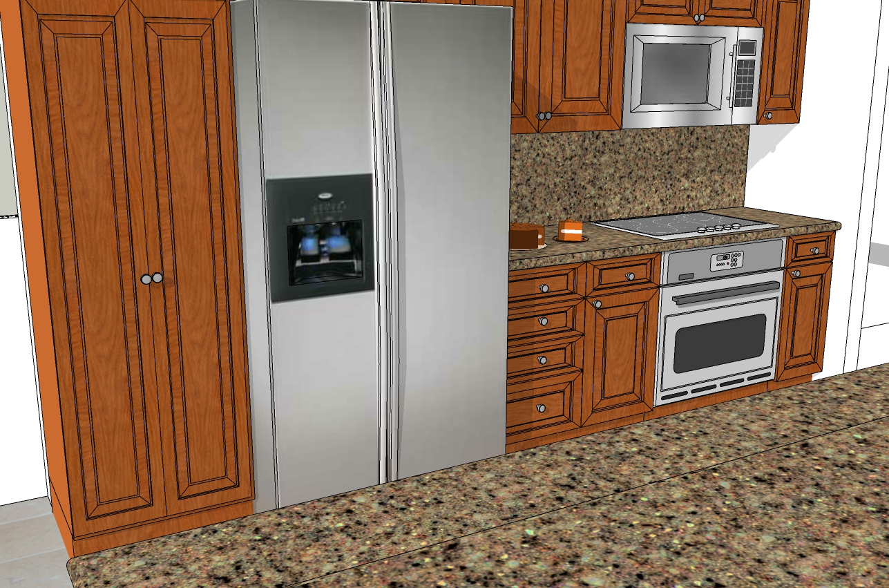 A kitchen sample of what can be done